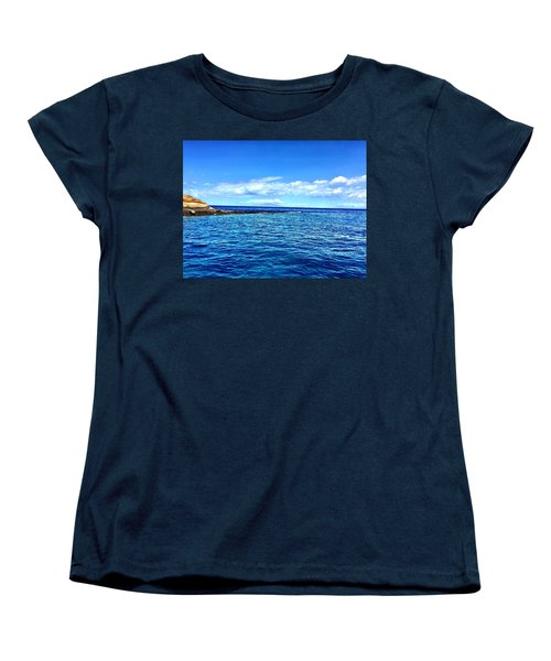 Women's T-Shirt (Standard Cut) featuring the photograph Boat Life 1 by Michael Albright