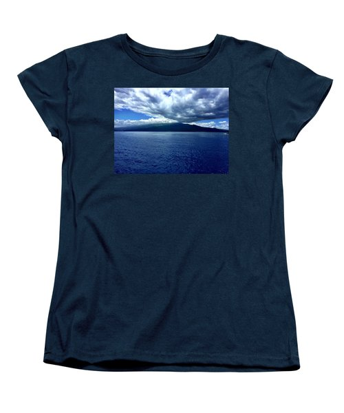 Women's T-Shirt (Standard Cut) featuring the photograph Boat View 2 by Michael Albright