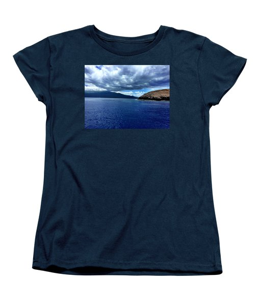 Women's T-Shirt (Standard Cut) featuring the photograph Boat View 3 by Michael Albright