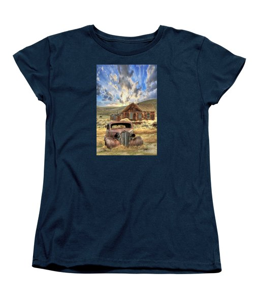 Bodie Ghost Town Women's T-Shirt (Standard Cut) by Benanne Stiens
