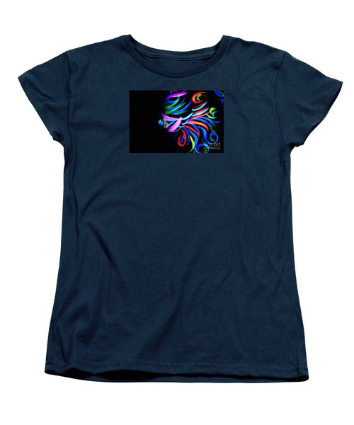 Body Art Breast Women's T-Shirt (Standard Cut) by Tbone Oliver