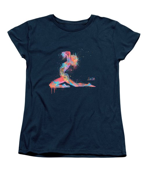 Bodyscape In D Minor - Music Of The Body Women's T-Shirt (Standard Cut) by Nikki Marie Smith
