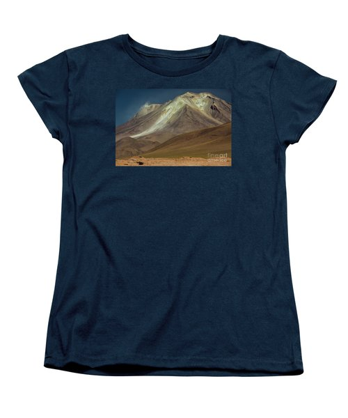Bolivian Highland Women's T-Shirt (Standard Cut) by Gabor Pozsgai