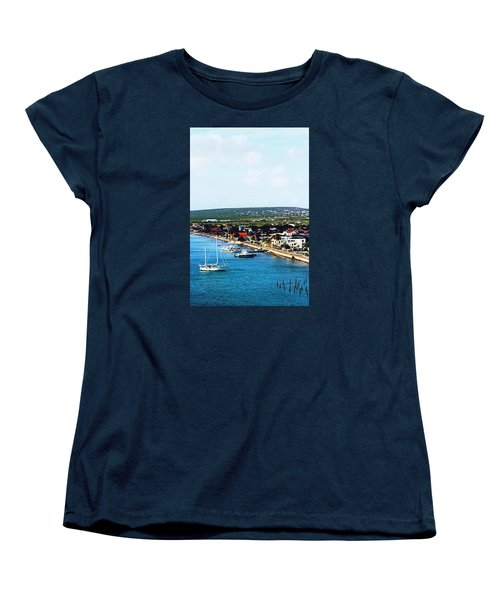 Bonaire Women's T-Shirt (Standard Cut) by Infinite Pixels