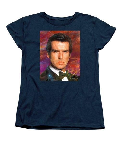 Bond - James Bond 5 Women's T-Shirt (Standard Cut) by John Robert Beck