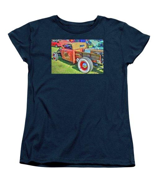 Boneyard Bombs Women's T-Shirt (Standard Cut) by Marion Johnson