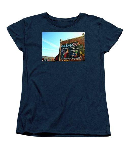 Boogie And Blues Women's T-Shirt (Standard Cut) by JAMART Photography