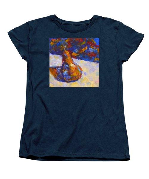 Bosc Pear Mosaic Women's T-Shirt (Standard Cut) by Susan Woodward