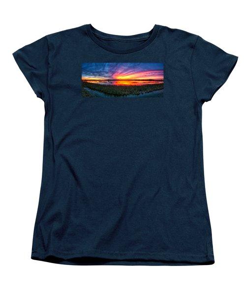Bosque Sunrise Women's T-Shirt (Standard Cut)