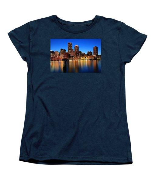 Boston Aglow Women's T-Shirt (Standard Cut)