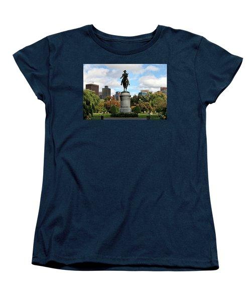 Boston Common Women's T-Shirt (Standard Cut) by DJ Florek