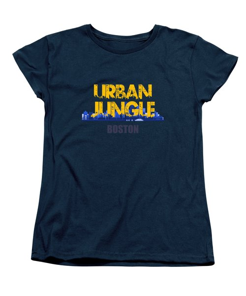 Boston Urban Jungle Shirt Women's T-Shirt (Standard Cut) by Joe Hamilton