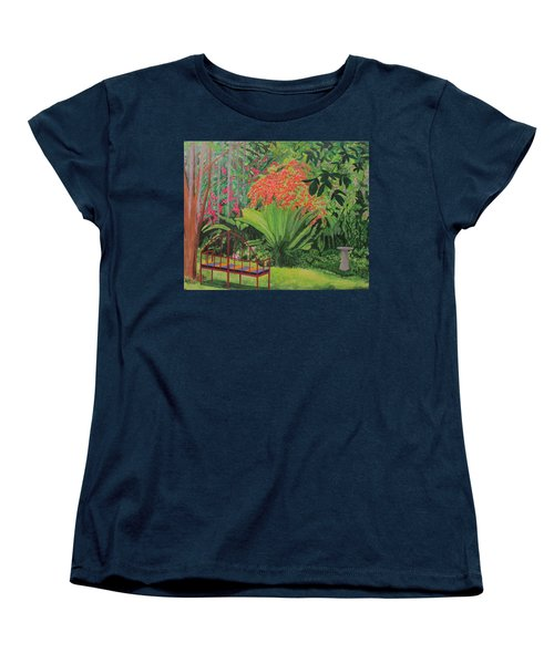 Bougainvillea Garden Women's T-Shirt (Standard Cut) by Hilda and Jose Garrancho