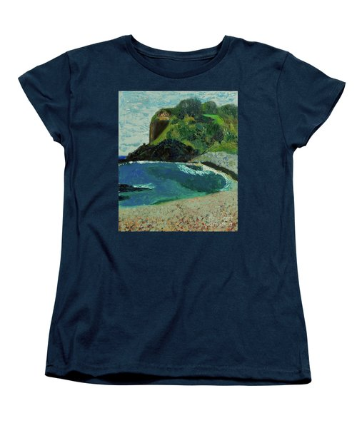 Boulder Beach Women's T-Shirt (Standard Cut) by Paul McKey