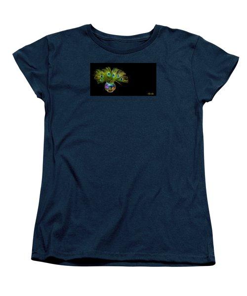 Bouquet Of Peacock Women's T-Shirt (Standard Cut)