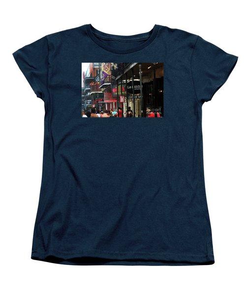 Women's T-Shirt (Standard Cut) featuring the photograph Bourbon Street by Steven Spak