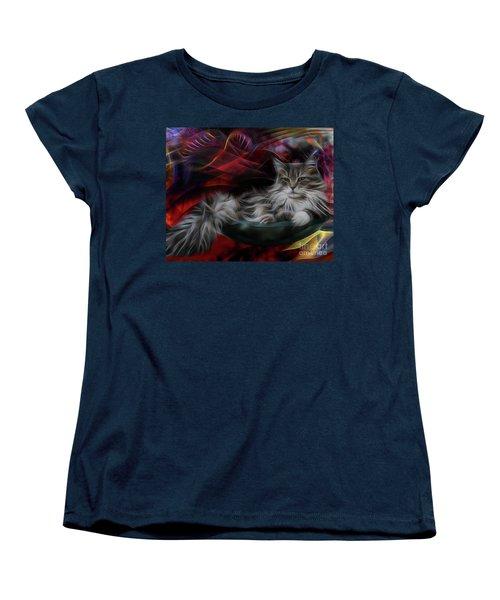Bowl Of More Fur Women's T-Shirt (Standard Cut) by John Robert Beck