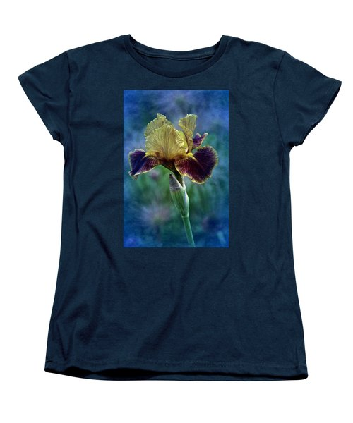 Vintage Boy Wonder Iris Women's T-Shirt (Standard Cut) by Richard Cummings