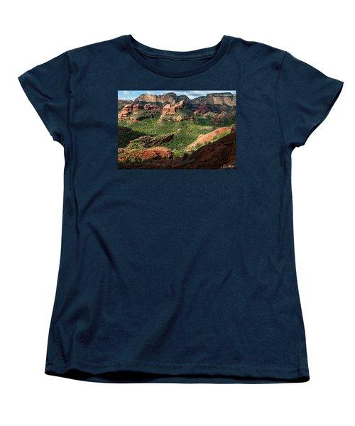 Boynton Canyon 05-942 Women's T-Shirt (Standard Cut) by Scott McAllister