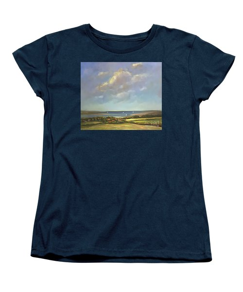 Brancaster Staithes, Norfolk Women's T-Shirt (Standard Cut) by Genevieve Brown