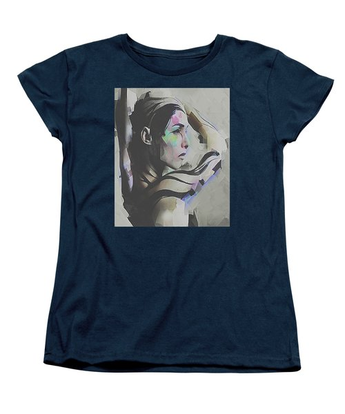 Women's T-Shirt (Standard Cut) featuring the digital art Branches  by Galen Valle