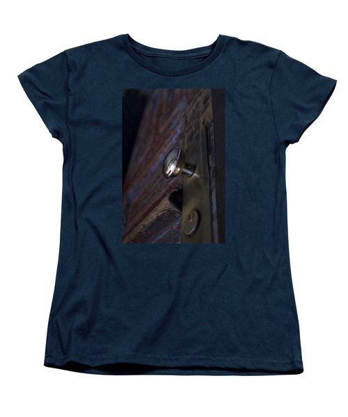 Brass Door Knob I Women's T-Shirt (Standard Cut) by Henri Irizarri