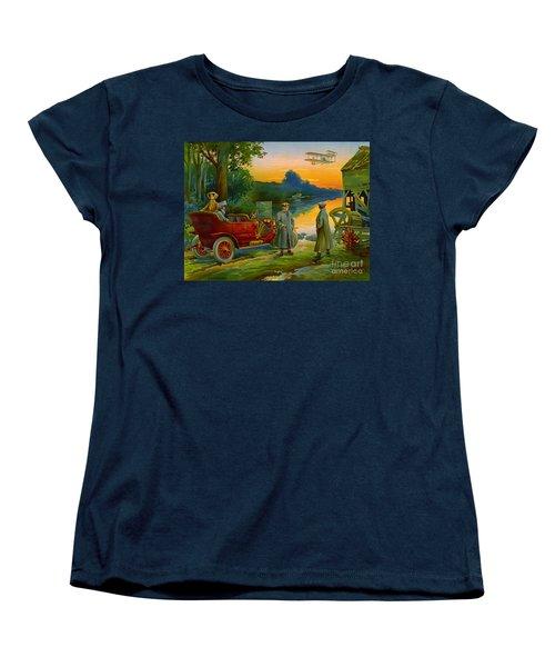 Brave New World 1910 Women's T-Shirt (Standard Cut) by Padre Art