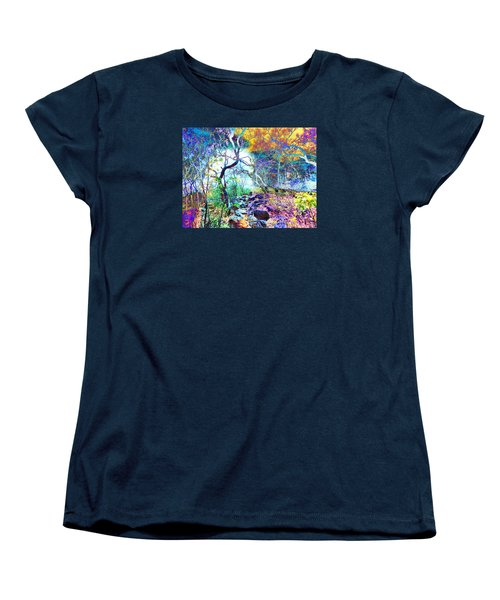 Women's T-Shirt (Standard Cut) featuring the photograph Brazilian Surreal Forest by Beto Machado
