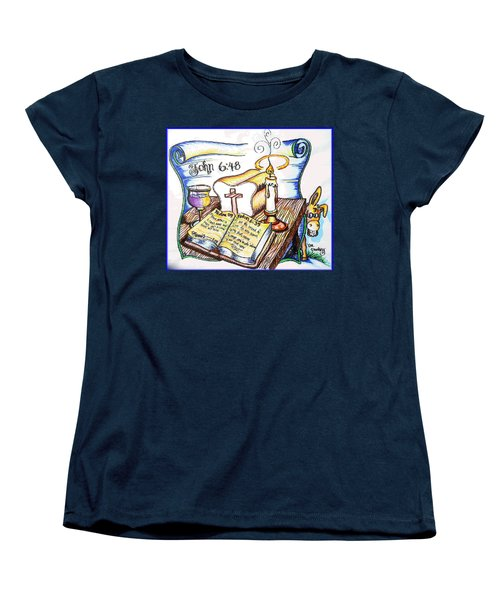 Bread Of Life Women's T-Shirt (Standard Cut) by Duane Bemis