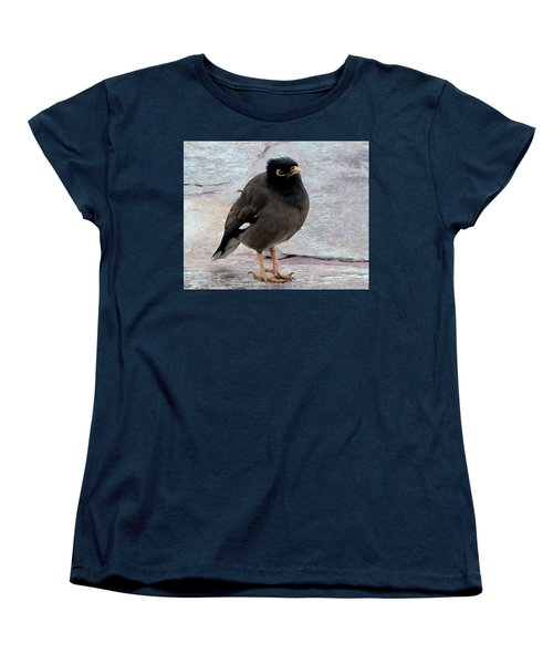 Breakfast Greeter, Maui Women's T-Shirt (Standard Cut) by I'ina Van Lawick