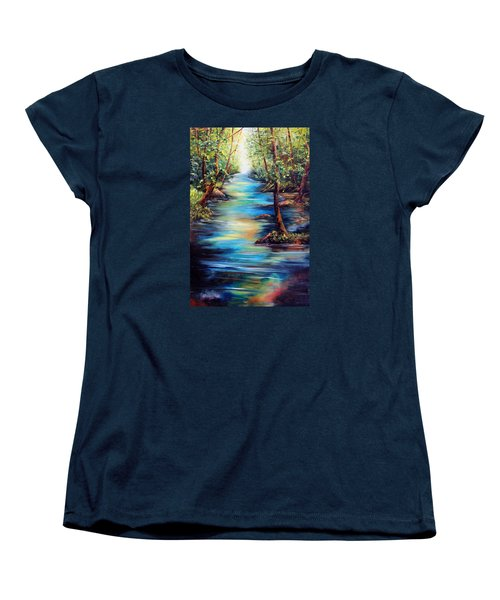 Breaking Through Women's T-Shirt (Standard Cut) by Meaghan Troup