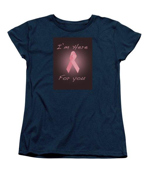 Breast Cancer Women's T-Shirt (Standard Cut) by Jim  Hatch