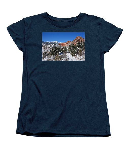 Breathtaking View Women's T-Shirt (Standard Cut) by Diane Alexander