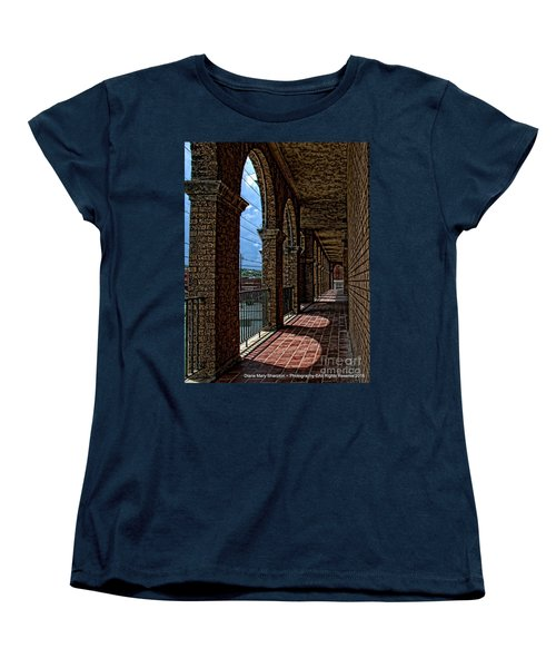 Breezway On The Baker Women's T-Shirt (Standard Cut) by Diana Mary Sharpton