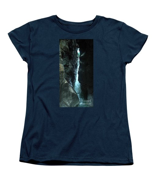 Breitach Gorge Oberstdorf 7 Women's T-Shirt (Standard Cut) by Rudi Prott