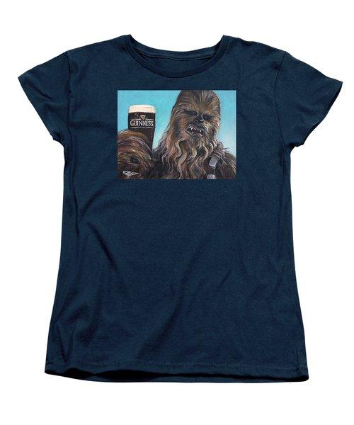 Brewbacca Women's T-Shirt (Standard Cut) by Tom Carlton