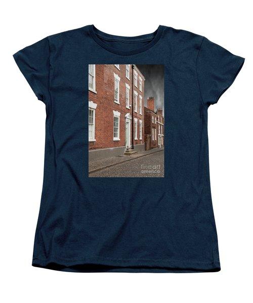 Women's T-Shirt (Standard Cut) featuring the photograph Brick Buildings by Juli Scalzi