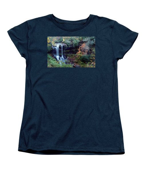 Bridal Veil Waterfalls Women's T-Shirt (Standard Cut) by Debra Crank