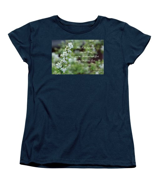 Bridal Wreath Christian Art Women's T-Shirt (Standard Cut)