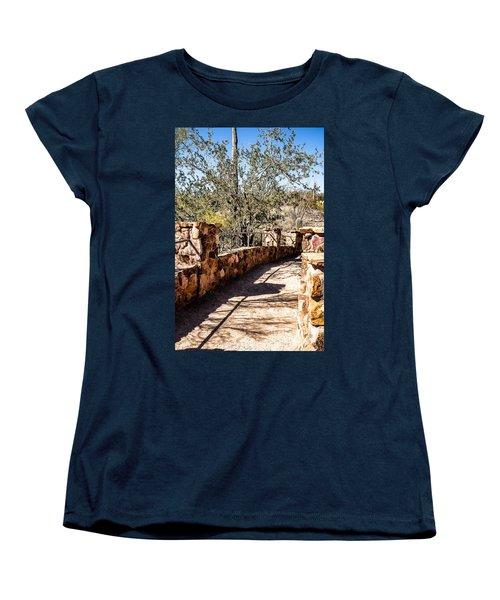 Bridge Over Desert Wash Women's T-Shirt (Standard Cut)