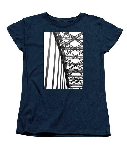 Women's T-Shirt (Standard Cut) featuring the photograph Bridge by Brian Jones