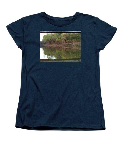 Women's T-Shirt (Standard Cut) featuring the photograph Bridge Frame by Betty Northcutt