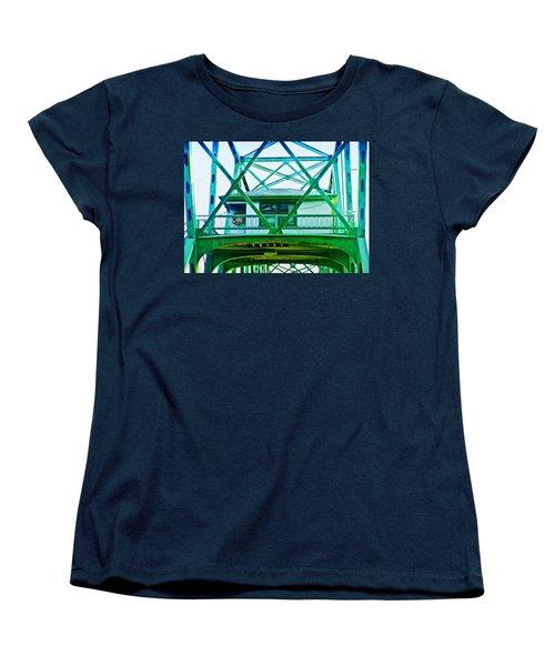 Bridge House Women's T-Shirt (Standard Cut) by Adria Trail