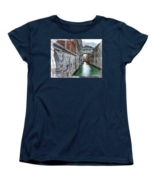 Bridge Of Sighs Women's T-Shirt (Standard Cut) by Tom Cameron