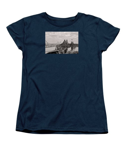 Bridges At Vicksburg Mississippi Women's T-Shirt (Standard Cut) by Don Spenner