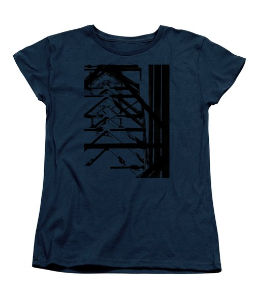 Bridgework Girding Women's T-Shirt (Standard Cut) by David Andersen