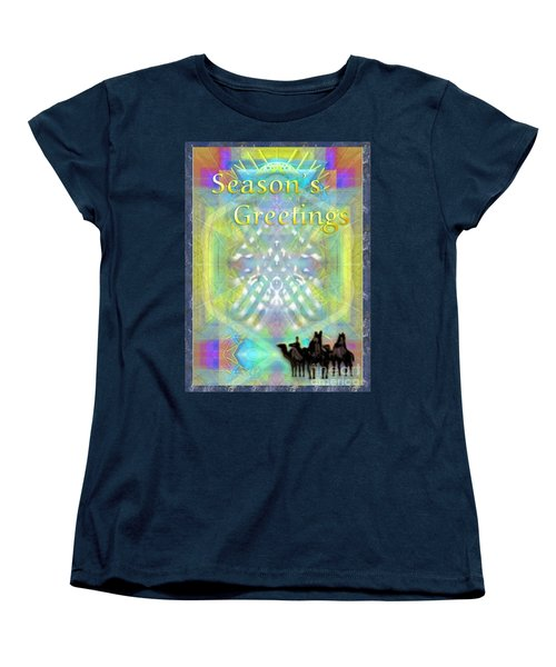 Bright Chalice Tree N 3 Kings Women's T-Shirt (Standard Cut) by Christopher Pringer