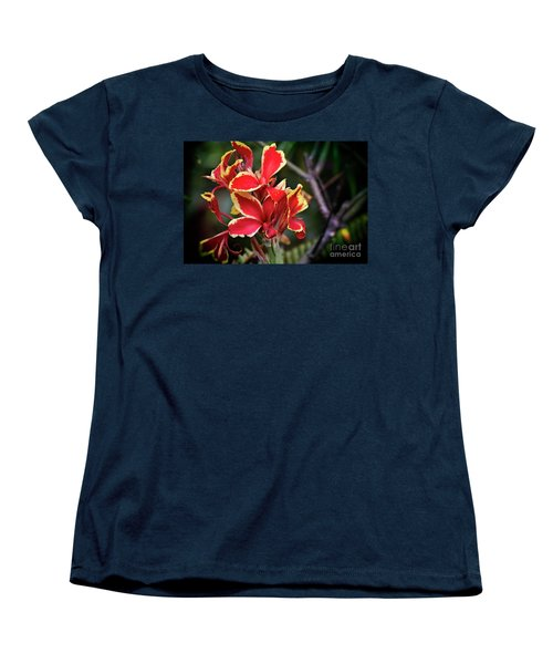 Women's T-Shirt (Standard Cut) featuring the photograph Bright Spot In My Day by Mary Machare