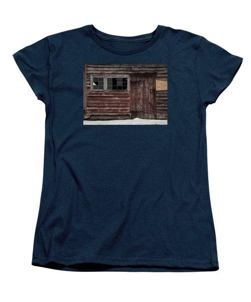 Broad Side Of A Barn Women's T-Shirt (Standard Cut) by Debra Fedchin