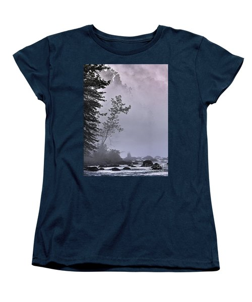 Brooding River Women's T-Shirt (Standard Cut) by Tom Cameron